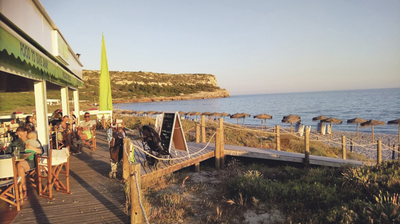 Ses Garces Beach Bar